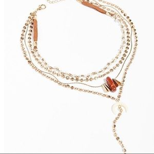 Free People Dana Point Layered Necklace